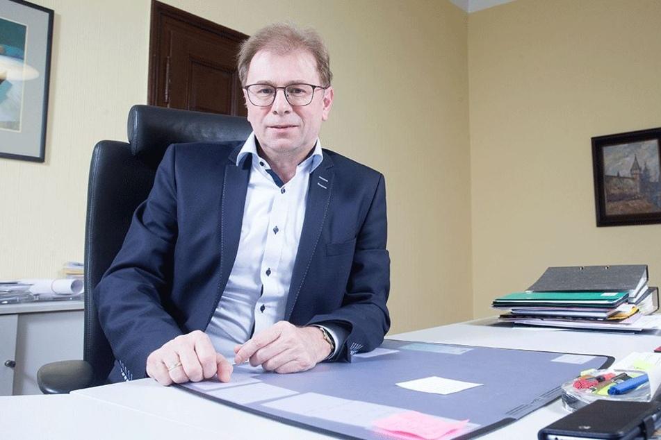 Andre Raphael Oberbürgermeister von Crimmitschau.