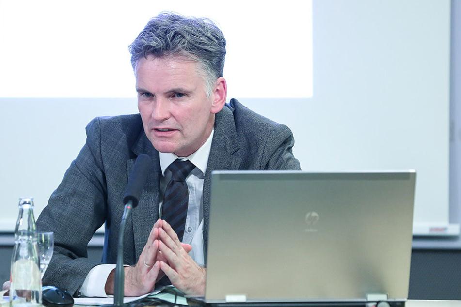 Sachsens Verfassungsschutz-Chef Gordian Meyer-Plath (50).