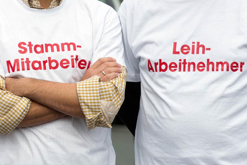 In Thüringen ist die Zahl der Leiharbeiter drastisch gestiegen. (Symbolbild)