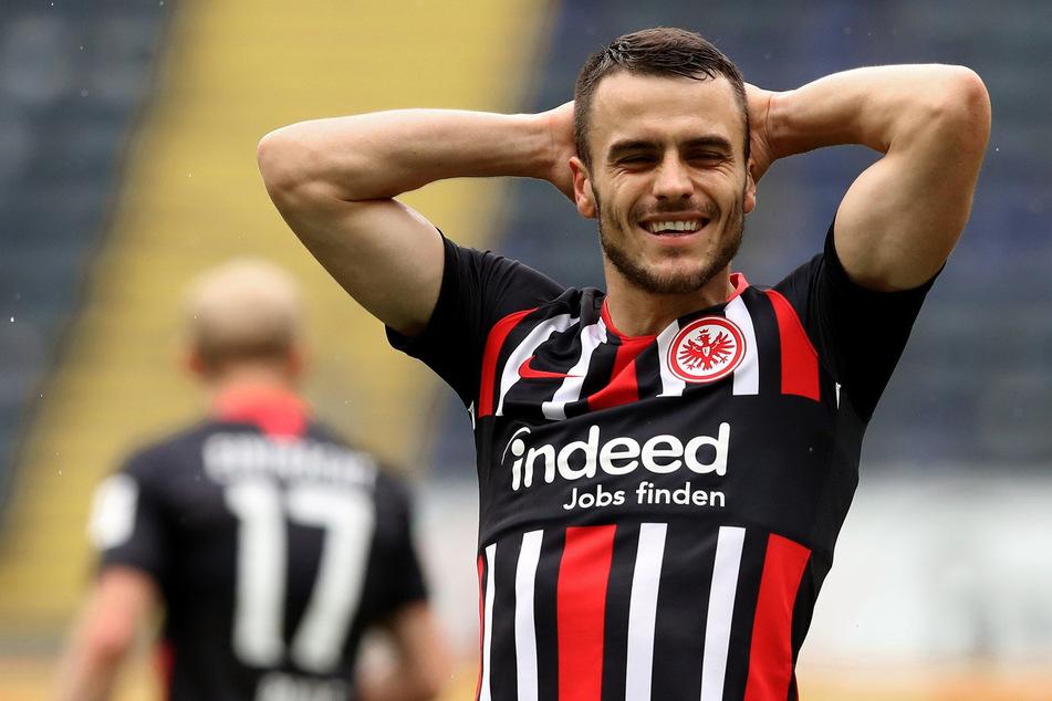 Kickt Eintracht Frankfurts Filip Kostic (28) ab der kommenden Saison im Dress von Inter Mailand?
