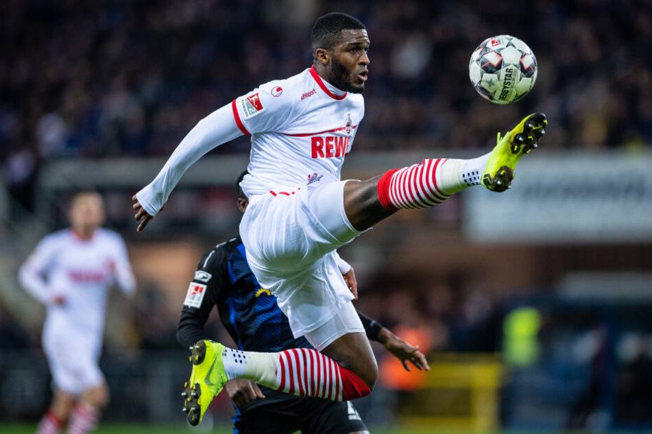 Bei der 2:3-Niederlage gegen den SC Paderborn am 15. Februar gab Anthony Modeste sein Comeback für den 1. FC Köln.