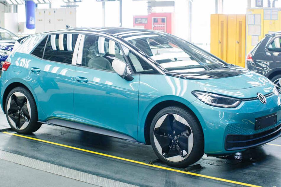ID.3: An diesem Auto hängt die Zukunft von VW in Sachsen
