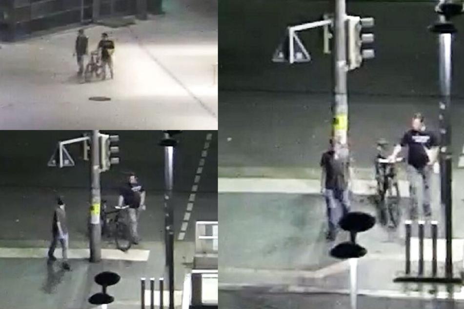 Sie wurden Zeugen einer Gewalttat! Polizei sucht dringend diese beiden Männer