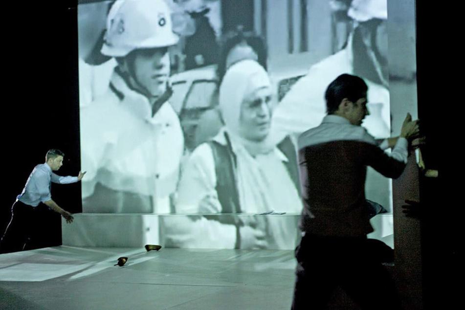 """Das Stück """"Die Lücke"""" von Nuran David Calis lässt Anwohner und Geschäftsleute der Keupstraße zu Wort kommen."""