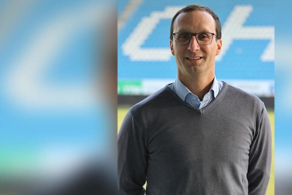 Der 42-jährige Falk Terjek wird neuer Leiter Marketing beim Chemnitzer FC.