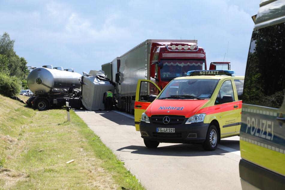 Der Verkehrsunfalldienst hat vor Ort seine Ermittlungen aufgenommen.