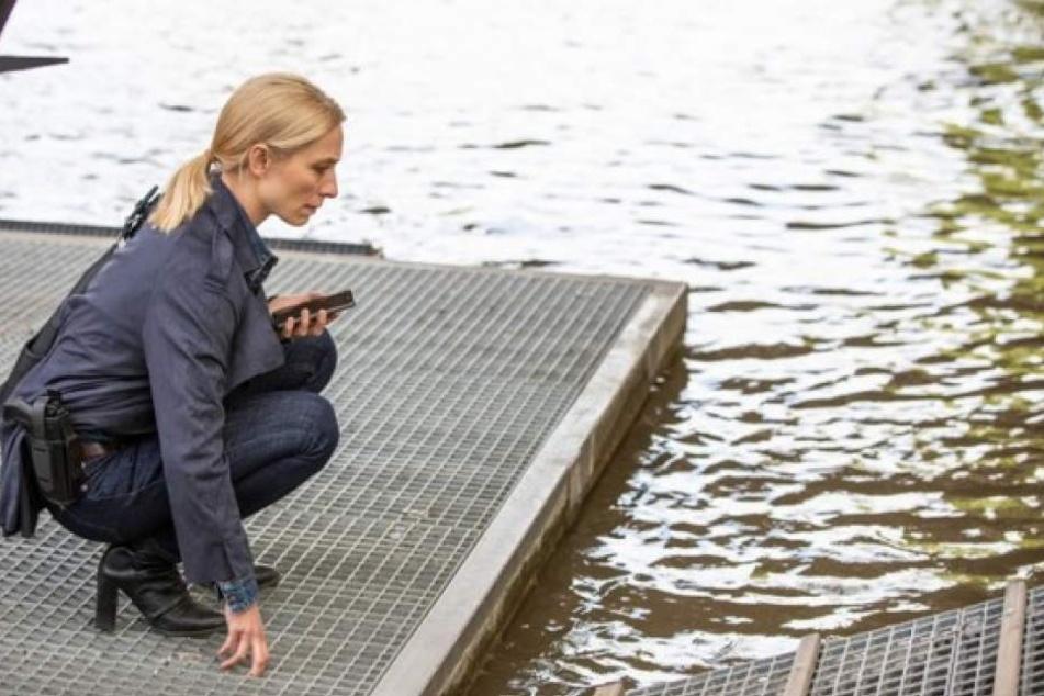 Ermittlerin Julia Durant (Sandra Borgmann) beweist sich als perfekte Profilerin.
