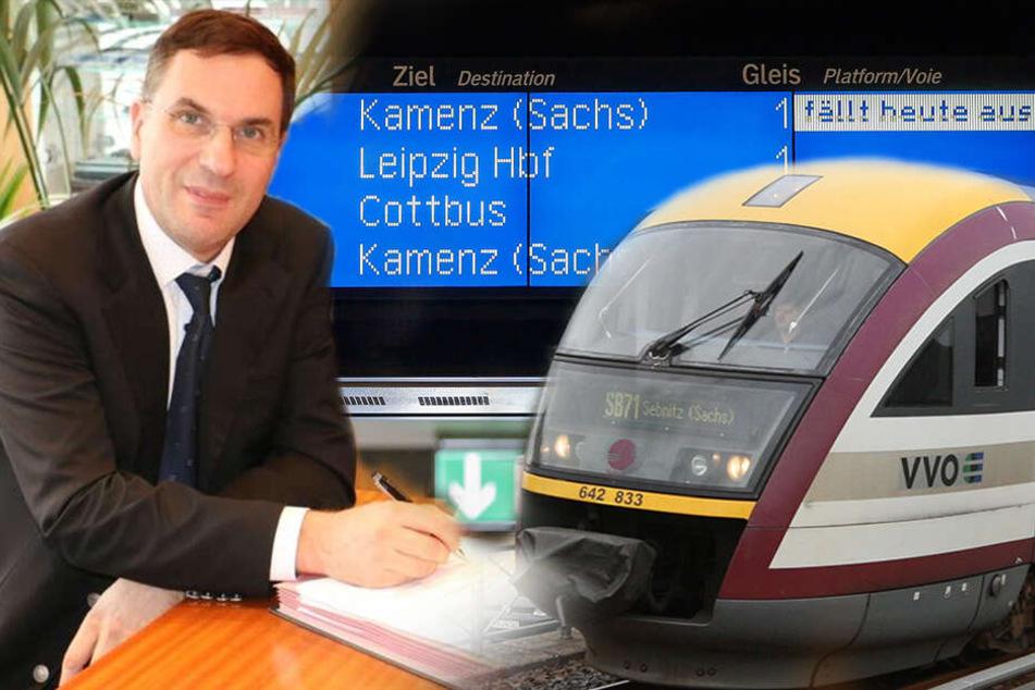Bahn-Chaos! Plötzlich rollten keine Züge mehr, Firmenbosse abgetaucht