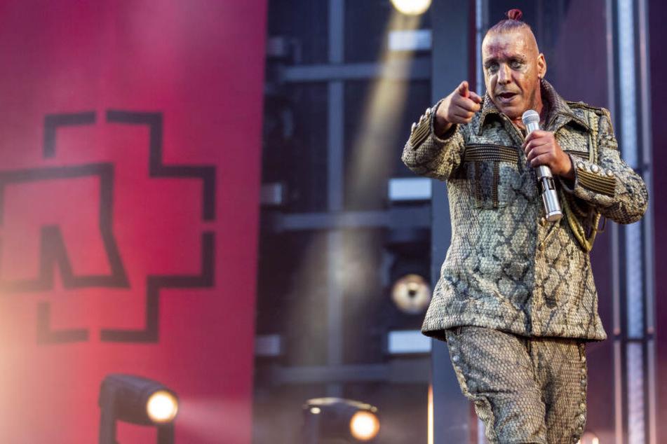 Till Lindemann (56) ist mit Rammstein gerade auf Europa-Tour.