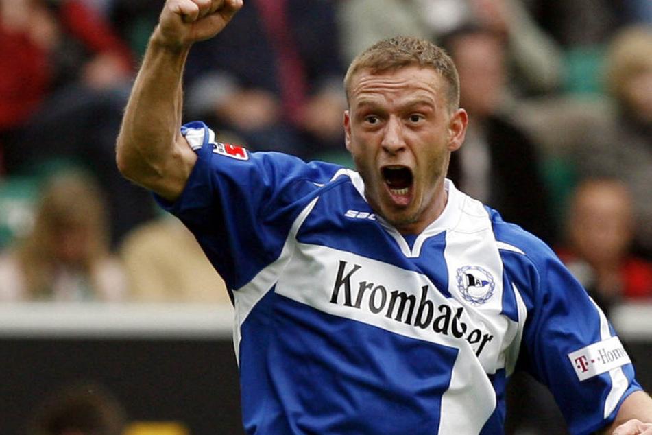 Jörg Böhme lief in 106 Spielen für Arminia Bielefeld auf. Jetzt zieht es ihn Steinhagen.