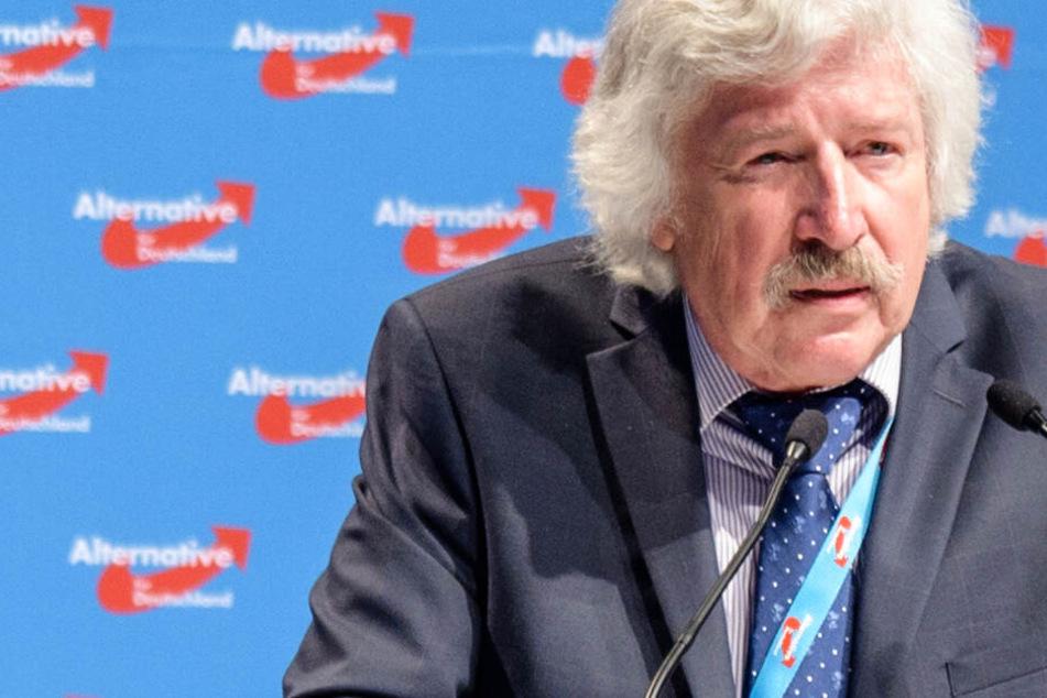 Das Foto aus dem Juli 2018 zeigt den hessischen AfD-Politiker und Zahnarzt Rainer Rahn.