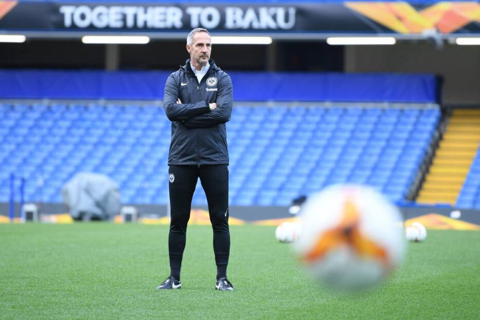 Eintracht Frankfurt-Coach Adi Hütter ist laut Meinung der Spielergewerkschaft der beste Trainer der vergangenen Saison.