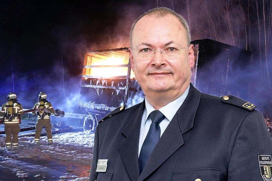 Brände, Unfälle, Dürre: Das war das heißeste Jahr für Dresdens Feuerwehr