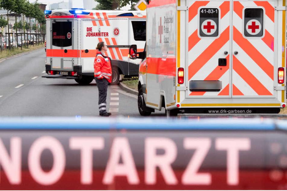 Sechs Personen wurden in ein Krankenhaus gebracht. (Symbolbild)
