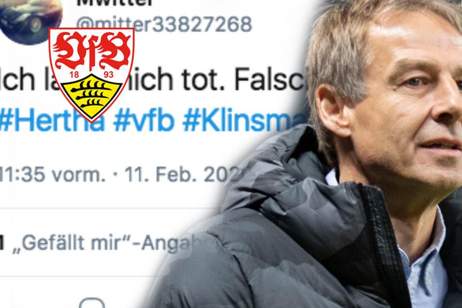 """VfB-Fans schadenfroh nach Klinsmann-Rücktritt bei Hertha BSC: """"Ein Selbstdarsteller"""""""
