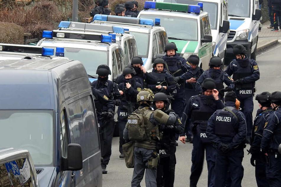 Auch für die Bombendrohung im Bildungs- und Technologiezentrum Borsdorf im Februar soll der Marokkaner verantwortlich gewesen sein.