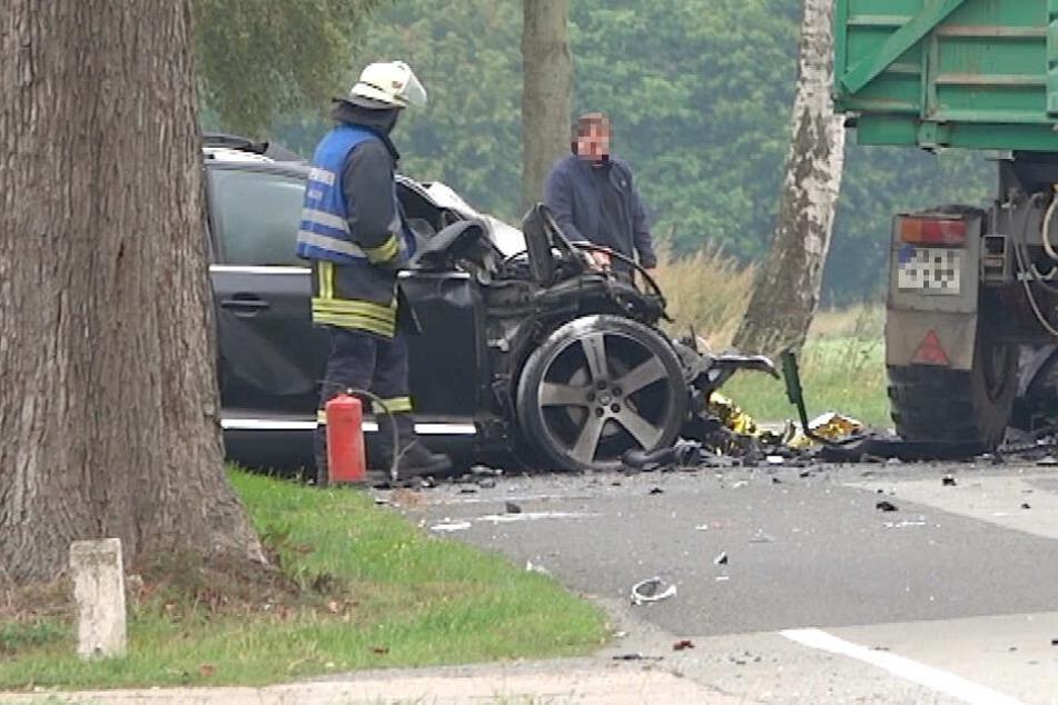 Horror-Unfall mit Traktor: Vater stirbt, seine Kinder werden schwer verletzt