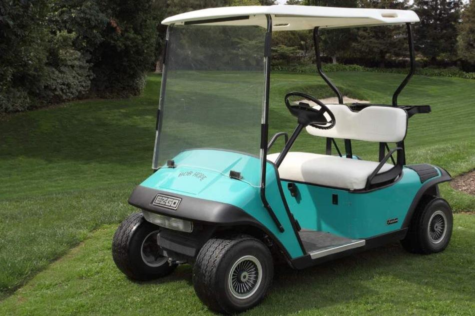 Von einem Golfplatz hatten die beiden jungen Männer ein Golfcart gestohlen. (Symbolbild)