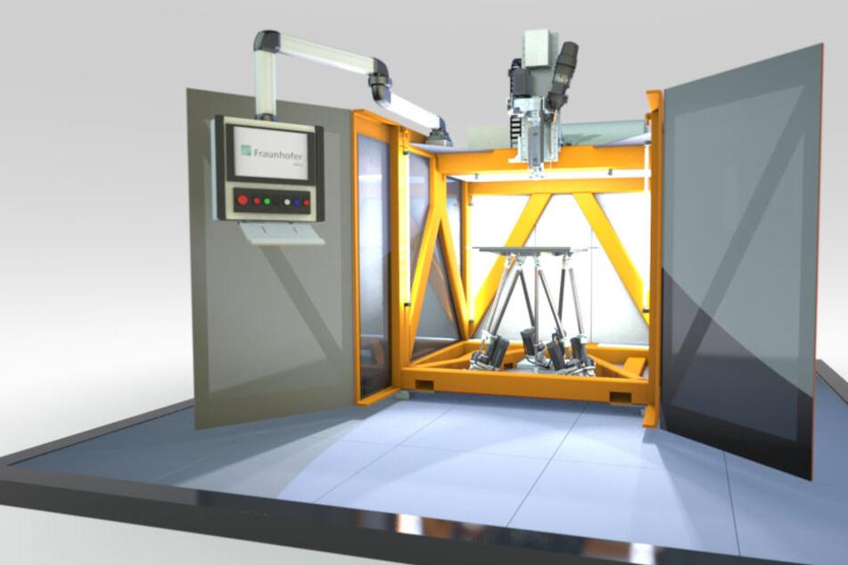 Chemnitzer Forscher entwickeln ultraschnelles 3D-Druckverfahren