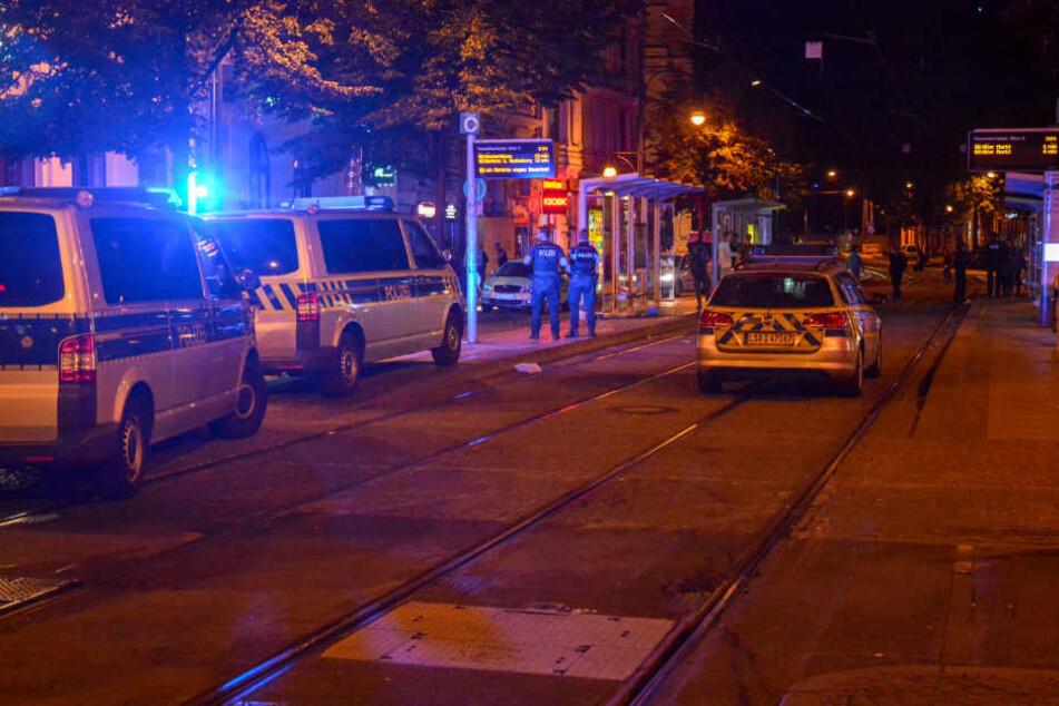 Auf dem Hasselbachplatz in Magdeburg gibt es öfter gewalttätige Ausschreitungen.