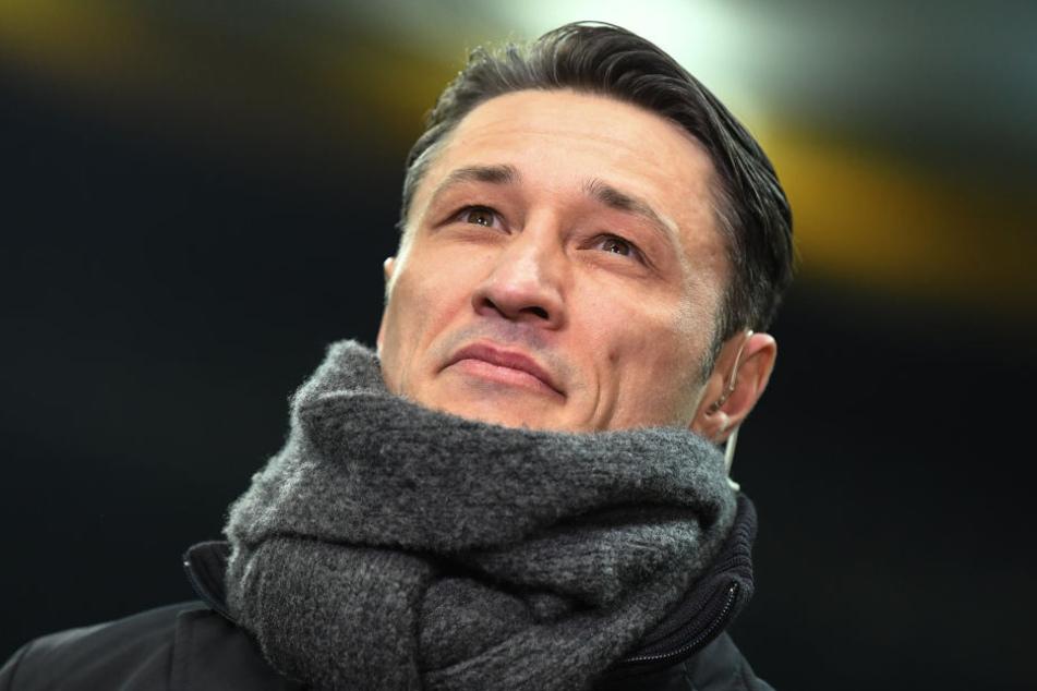 Blickt zuversichtlich und fokussiert in Richtung Stuttgart-Spiel: Eintracht-Coach Niko Kovac.