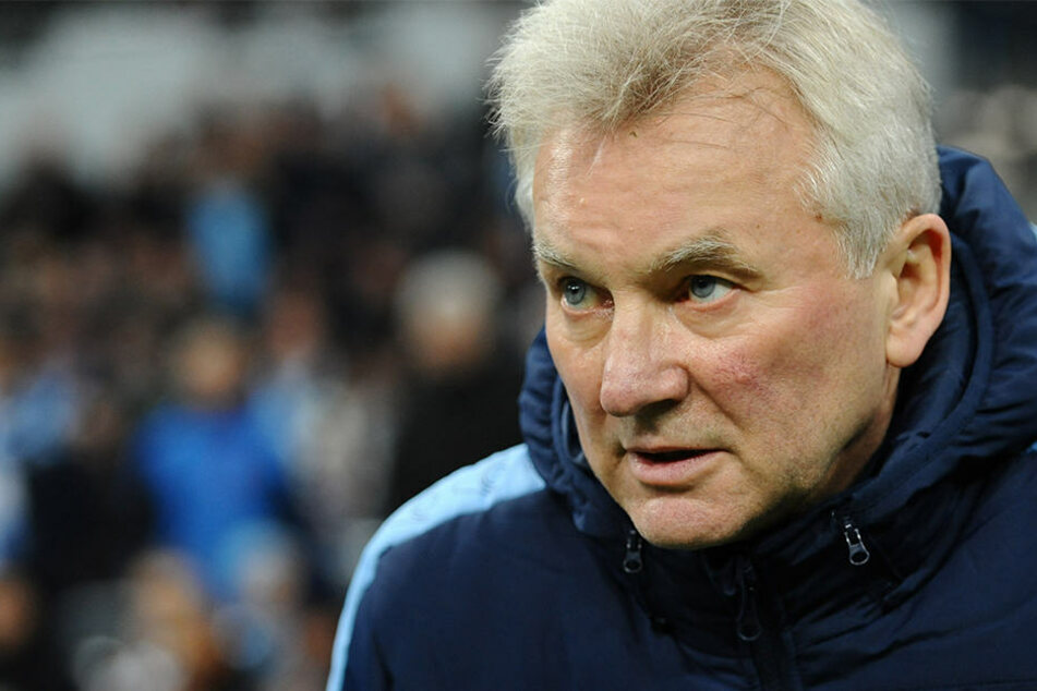 Benno Möhlmann ist mit der Leistung seines Teams zufrieden.