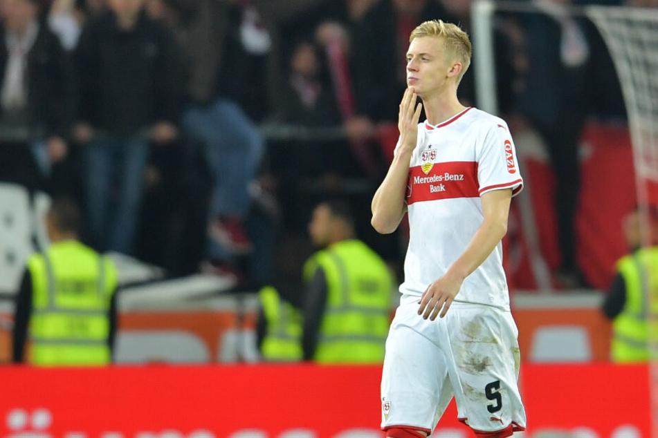 Noch im VfB-Trikot: Verteidiger Timo Baumgartl.