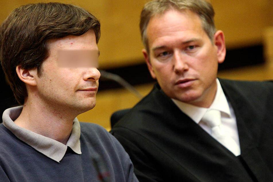 Der zweifache Mörder Jens S. vor Gericht.