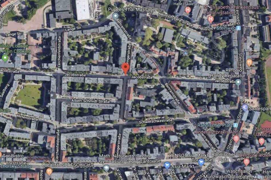 Der Angriff ereignete sich in der Jacobstraße.