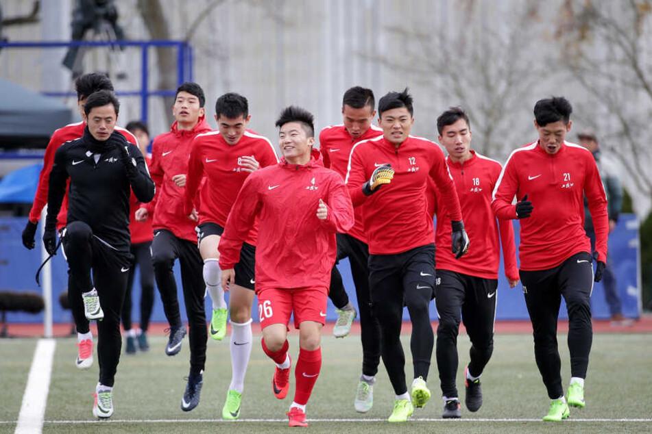 Chinas U20 wird bis zur Winterpause keine Testspiele gegen Regionalligisten absolvieren.