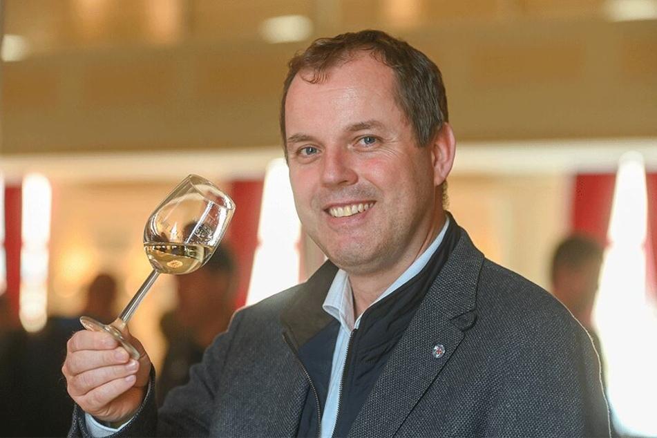 Hans Albrecht Zieger (42), Chef der Winzervereinigung Freyburg-Unstrut, mischt als Investor den sächsischen Weinbau auf.