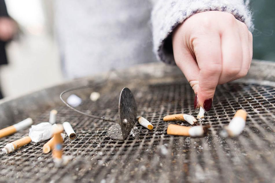 War das jetzt die letzte Zigarette? Durchhalten ist gefragt!