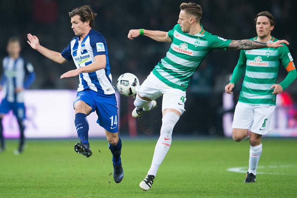 Vor heimischer Kulisse verlor Hertha BSC gegen SV Werder Bremen 0:1.