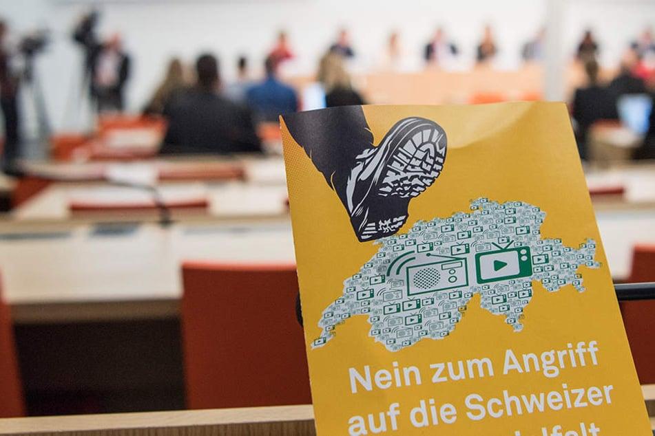 Hochrechnung: Schweizer stimmen gegen Abschaffung der Rundfunkgebühren