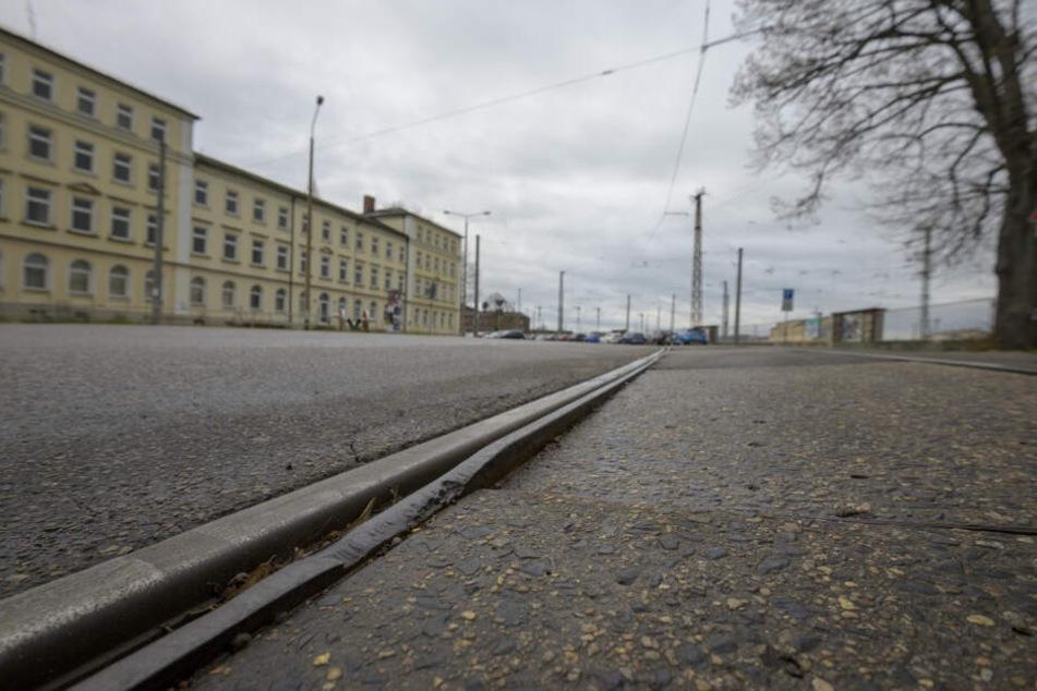 Die Gleise sind baufällig.