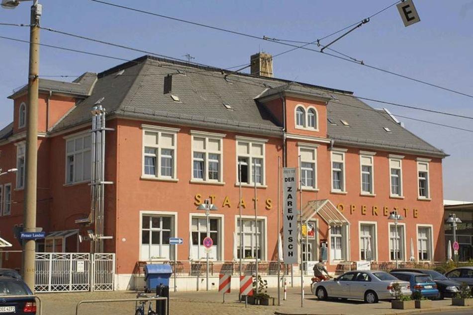 Die ehemalige Staatsoperette in Leuben steht leer.