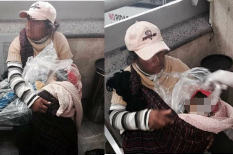 Der Horror: Mutter wartet mit ihrem toten Sohn auf dem Schoß auf Bus