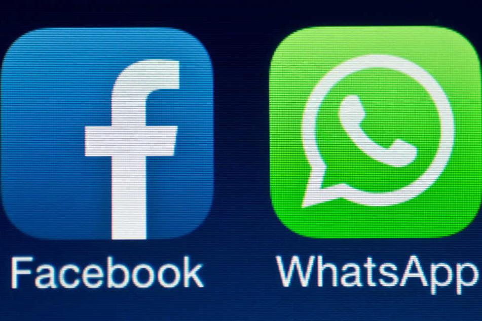Wegen Daten-Weitergabe an WhatsApp: Millionen-Strafe für Facebook