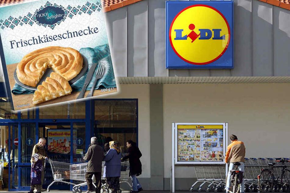 Die Frischkäseschnecken von Lidl enthalten Schweinefett. Auf Facebook hagelt es Kritik.
