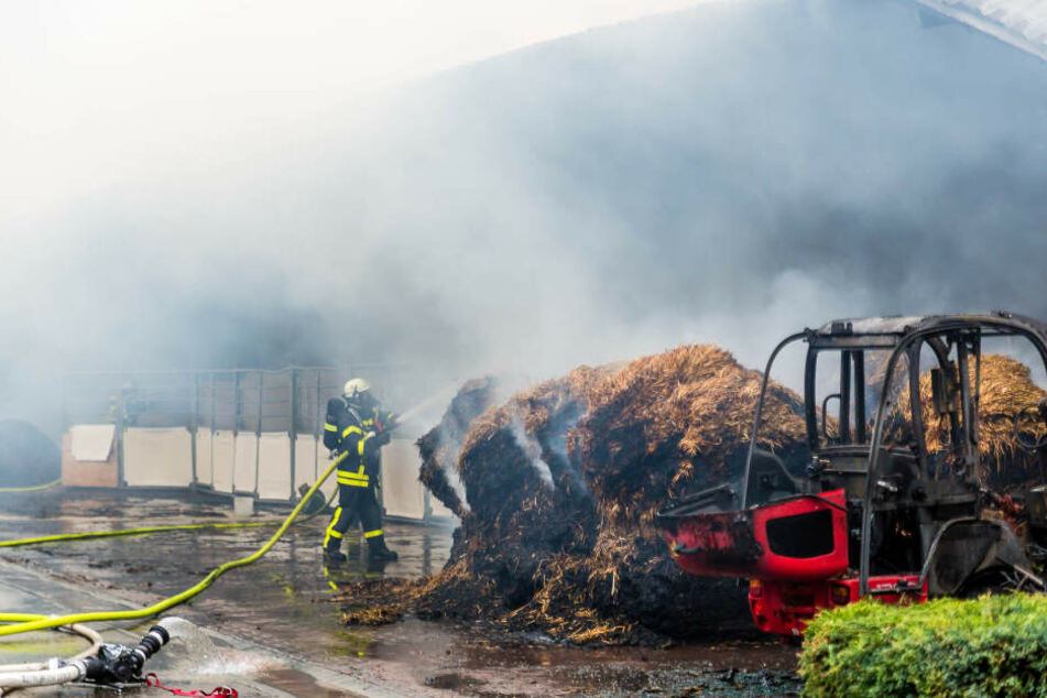 120 Feuerwehrleute waren im Einsatz um den Brand zu löschen.