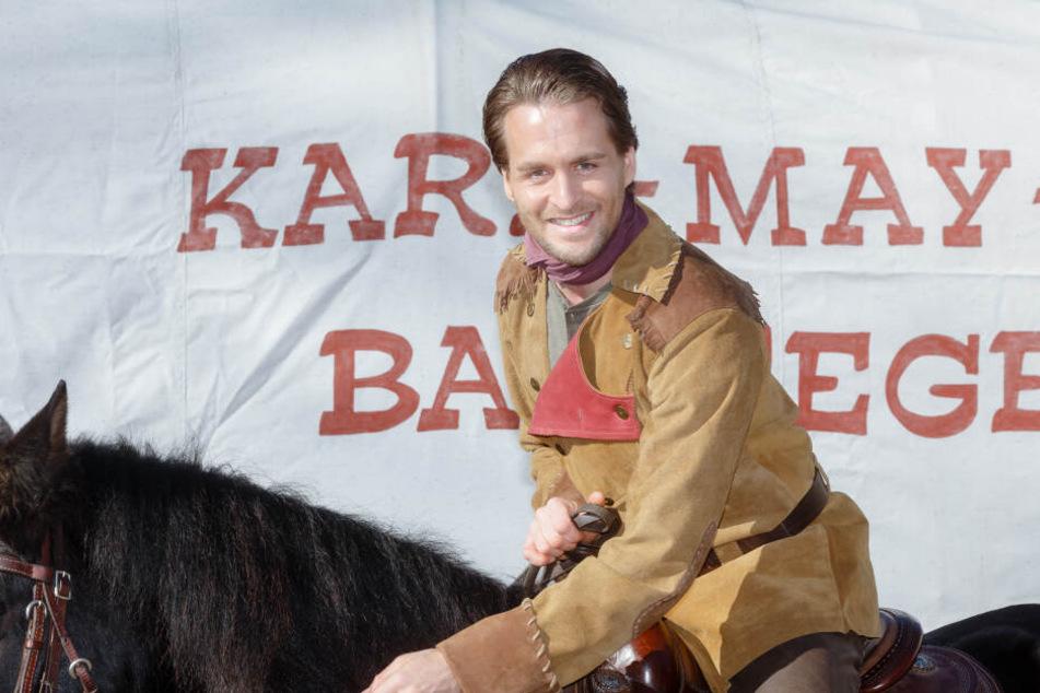 Alexander Klaws wirkte 2019 als Schauspieler bei den Karl-May-Spielen in Bad Segeberg mit