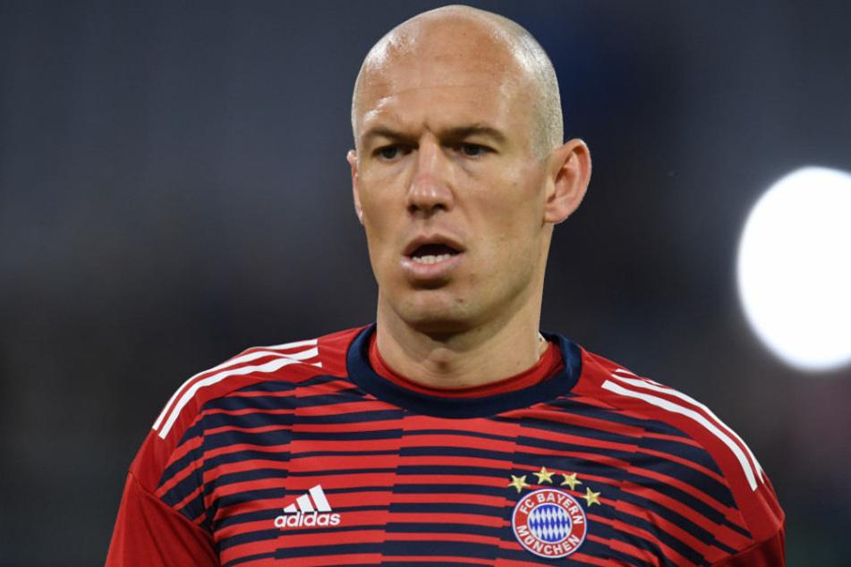 Arjen Robben wurde vom Aus Deutschlands im Urlaub überrascht.