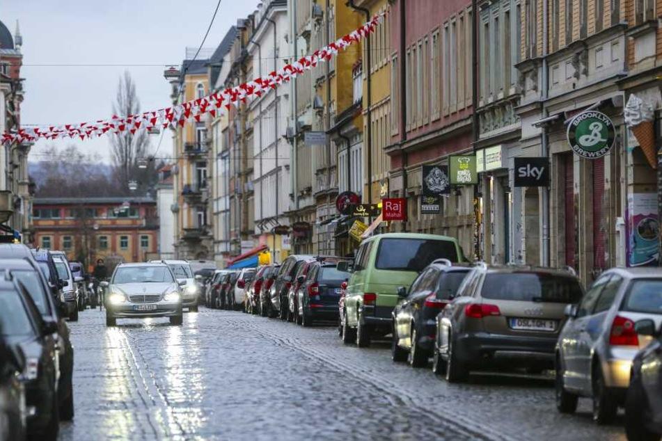 Auf der Louisenstraße geschah der Überfall.