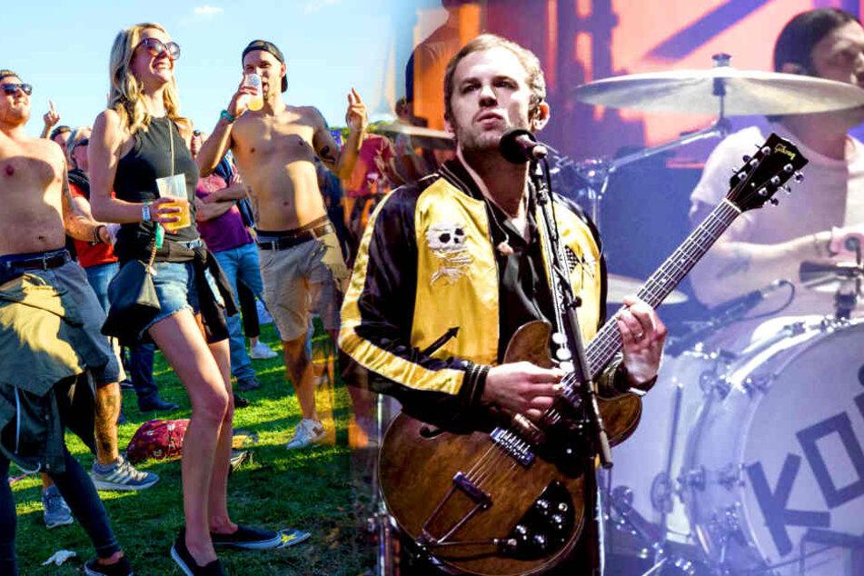 """Berlin: Festival-Hammer! Lollapalooza holt """"Kings of Leon"""""""