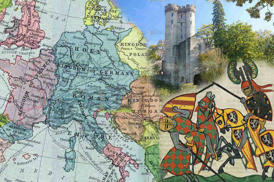 Wer siegt da eigentlich über wen? Zur besseren Unterscheidung wurden ab dem 12. Jahrhundert Nachnamen in Sachsen eingeführt. Die Mode schwappte von Italien und Frankreich an die Elbe.