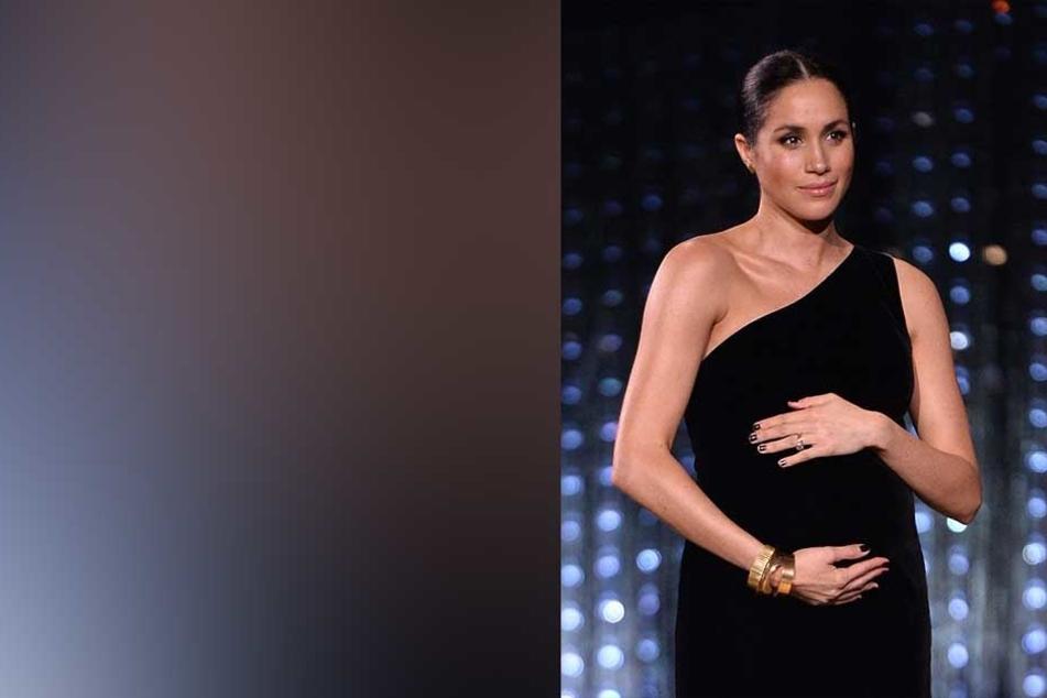 """""""Fashion Awards"""": Meghans Babybauch stahl allen die Show"""