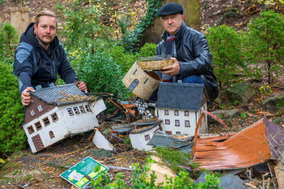 """Nach Sturm """"Herwart"""": 40.000 Euro Schaden im Klein-Erzgebirge"""