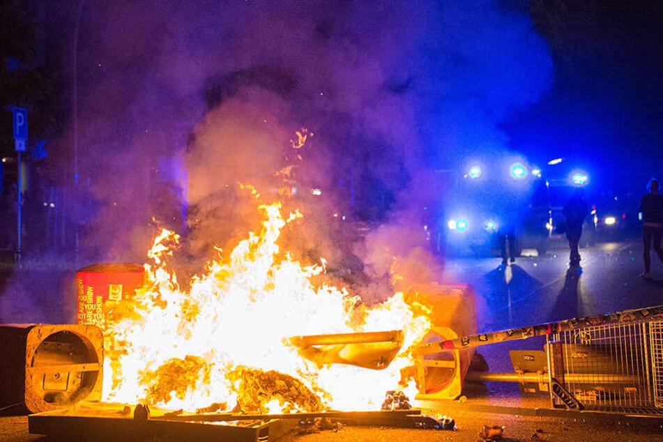 Neonazis nahmen an den G20 Protesten in Hamburg teil!