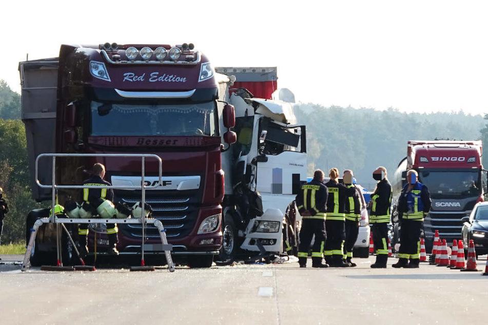 Die Autobahn ist seit den frühen Morgenstunden teilweise gesperrt.