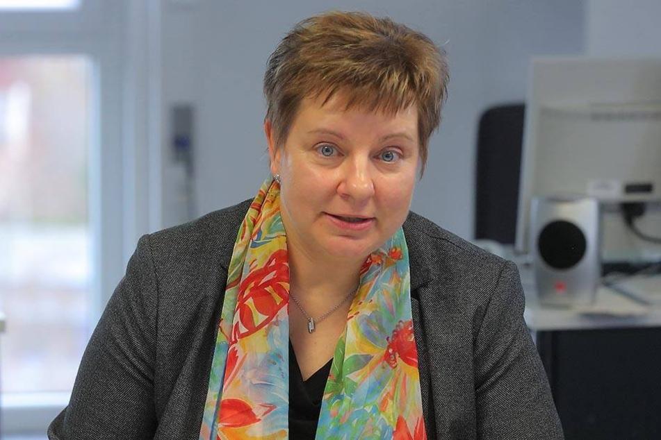 Die Chefin des JobCenters Nordsachsen, Christine Westphal (48).